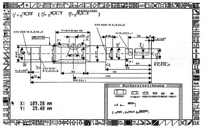 zentrische streckung koordinaten